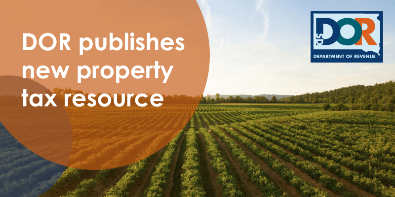 new published property tax fact resource for south dakotans