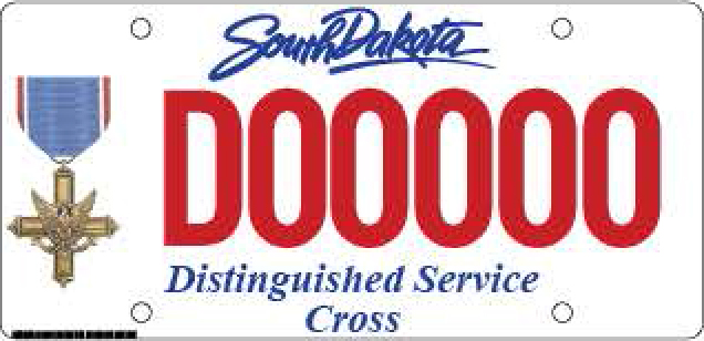 Distinguished Service Cross Plate