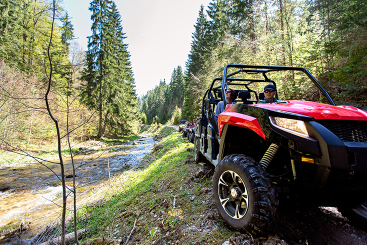 ATV in Nature