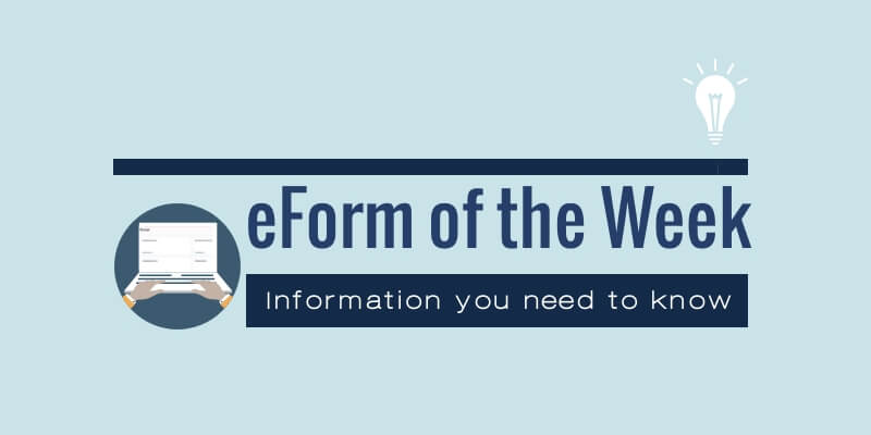 eForm of the Week; information you need to know from the South Dakota Department of Revenue